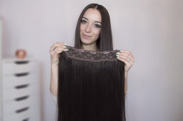 Tasma Clip In Włosy 50cm 160g-886