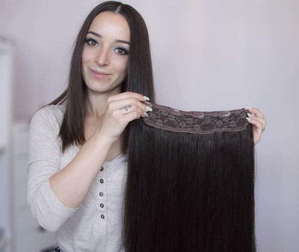 Tasma Clip In Włosy 50cm 160g-887