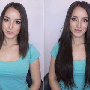 Włosy Clip in premium 50cm 220g-0
