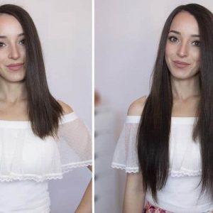 Włosy Clip in premium 50cm 160g-0