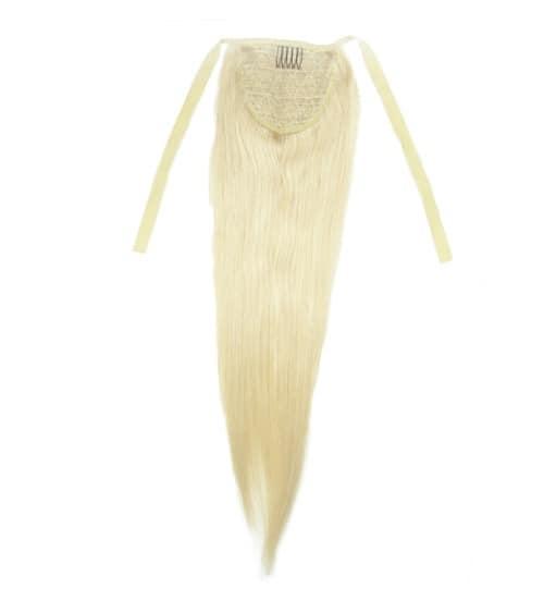Kucyk Naturalny 50cm 100g Najjasniejszy Blond 613-2865