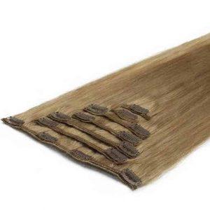 Wlosy Clip in 50cm 70g Niegrzeczny Blond 18-0