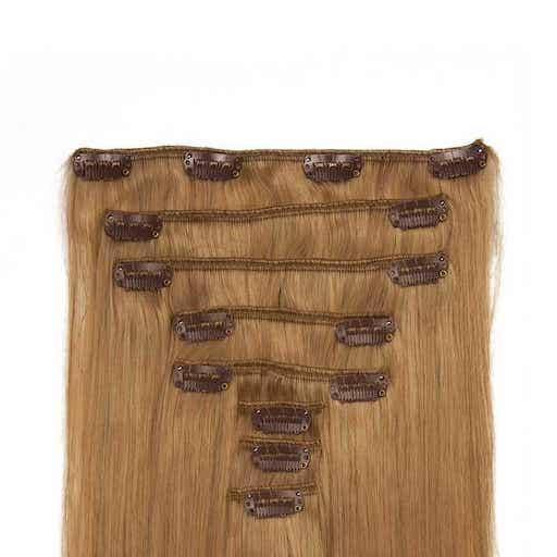Wlosy Clip in 60cm 160g Truskawkowy Blond 27-0