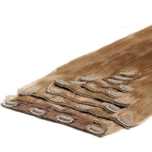 Wlosy Clip in Deluxe 50cm 200g Truskawkowy Blond 27-0