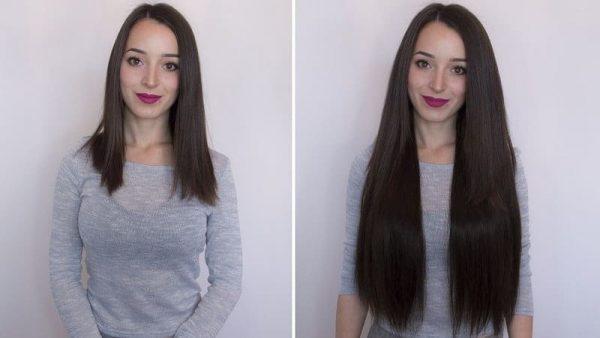 Włosy Flip in 55cm 160g-0