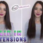 Premium Włosy Flip in 55cm 160g