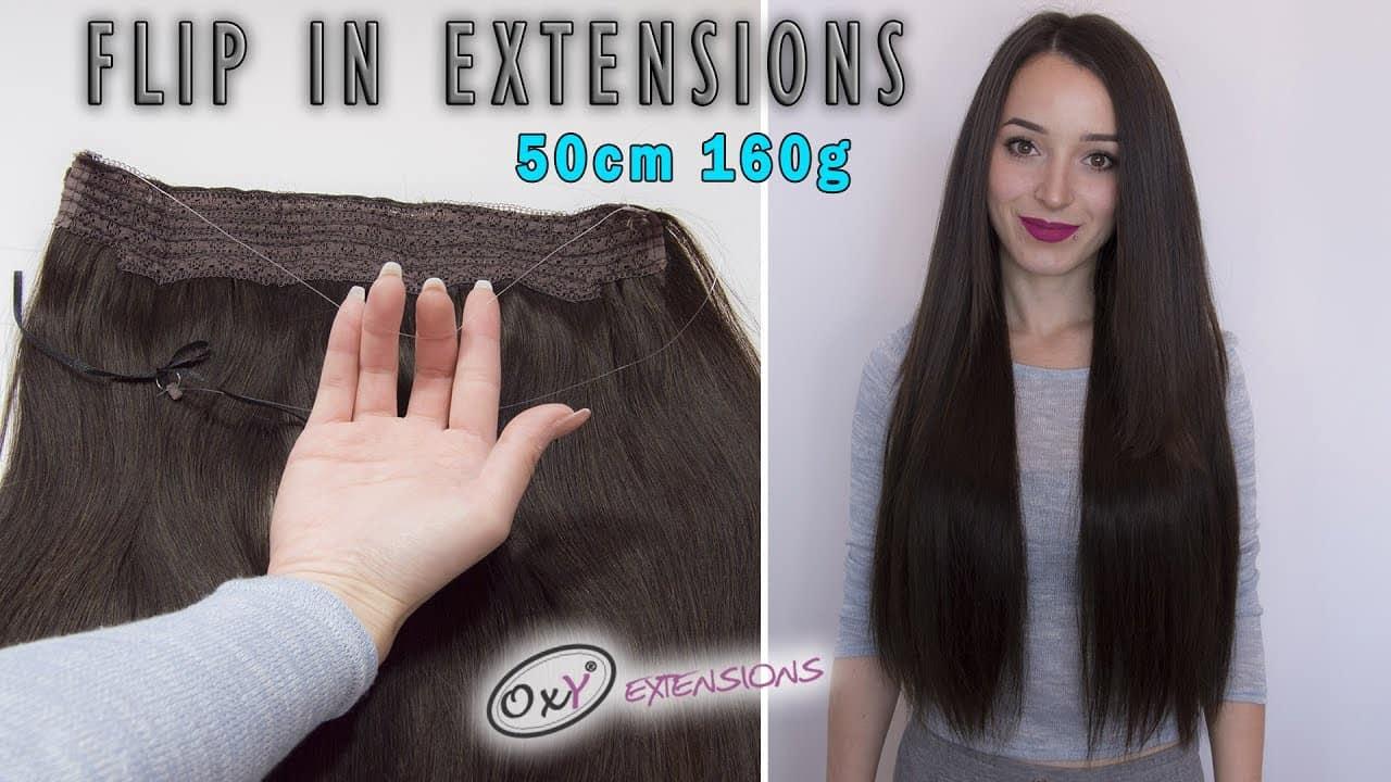 Premium Włosy Flip in 55cm 160g #2